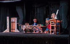 Der große Streit   Marionettentheater Wiesloch